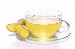 Прием имбирного чая